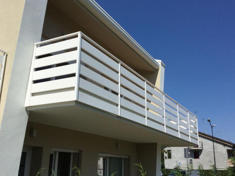 Awesome Ringhiere Terrazzi Contemporary - Casa & Design 2018 ...